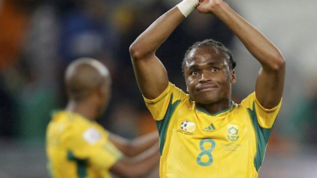 2010 World Cup South Africa's Siphiwe Tshabalala