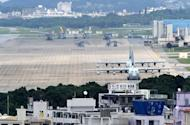 US Marine Corps Air Station Futenma base in Ginowan, Okinawa prefecture. The United States and Japan will announce an agreement aimed at breaking a long deadlock on a military base in Okinawa, a senior US official said Thursday