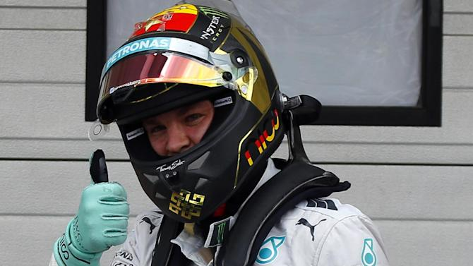 Formula 1 - Rosberg says clash won't sour rivalry