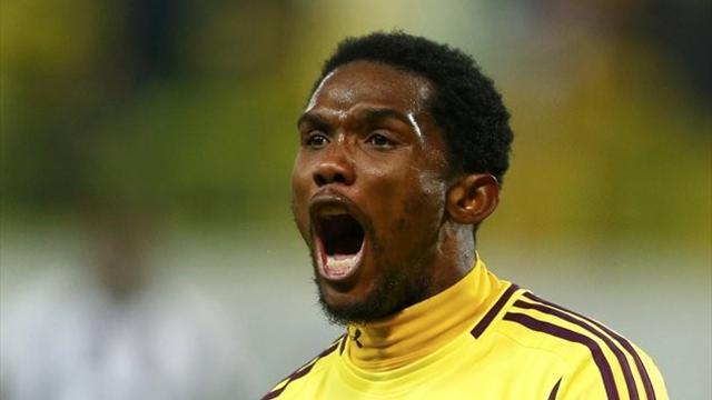 World Football - Eto'o inspires Anzhi to win over CSKA