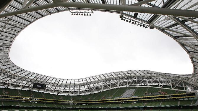 England will play their first ever match inside the Aviva Stadium in Dublin in November 2014