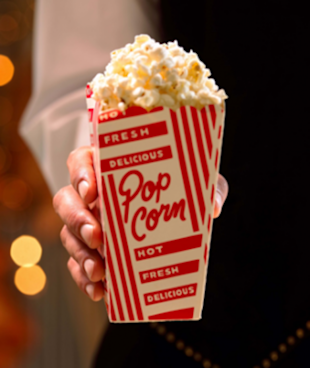 Movie theatre popcorn.