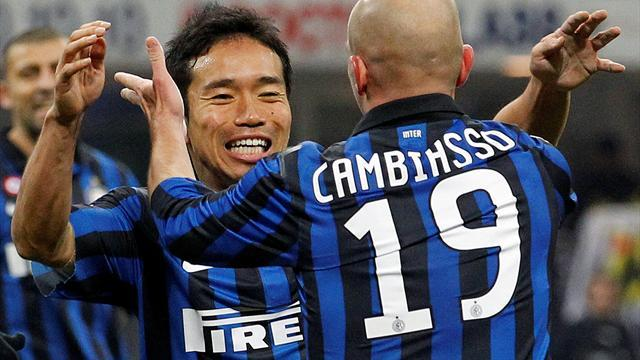 Serie A - Inter's Nagatomo shortlisted for Asian award