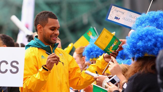 Olympians welcomed home in Melbourne