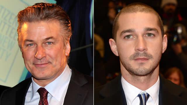 Shia LaBeouf Calls Out Former 'Orphans' Co-Star Alec Baldwin