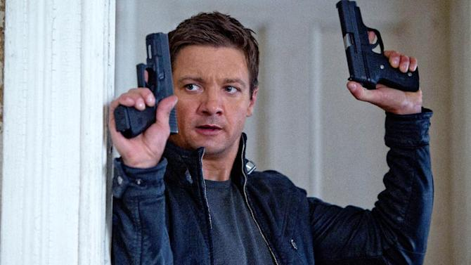 """FILE - This publicity film image released by Universal Pictures shows Jeremy Renner, as Aaron Cross, in a scene from """"The Bourne Legacy."""" (AP Photo/Universal Pictures, Mary Cybulski, File)"""