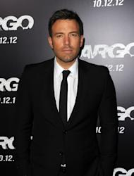 Ben Affleck arrives at the premiere of Warner Bros. Pictures' 'Argo' at AMPAS Samuel Goldwyn Theater, Beverly Hills, on October 4, 2012 -- Getty Images
