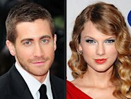 Jake Gyllenhaal and Taylor Swift. Photo: INF; Jon Kopaloff/FilmMagic