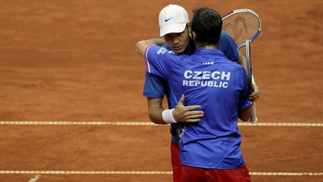 Davis Cup - Berdych and Stepanek lead Czechs in final