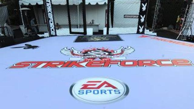 Mixed Martial Arts - Saffiedine shines on Strikeforce's final night