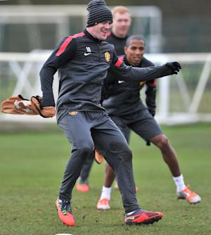 Wayne Rooney returned to training on Monday but will not face Galatasaray on Tuesday