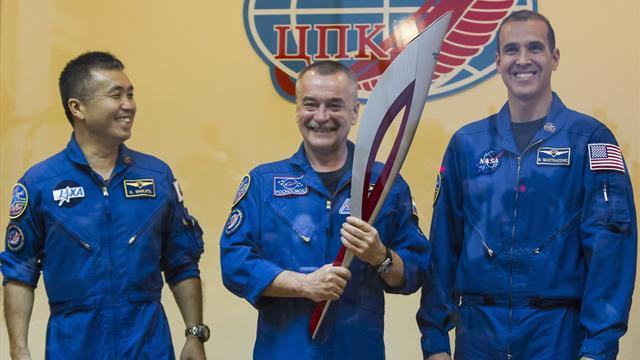 Olympic Games - Russia to take Olympic torch on first space walk