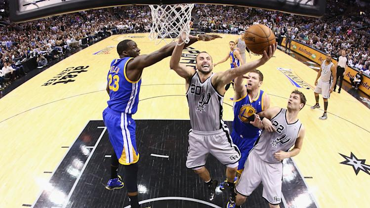 Golden State Warriors v San Antonio Spurs - Game Five