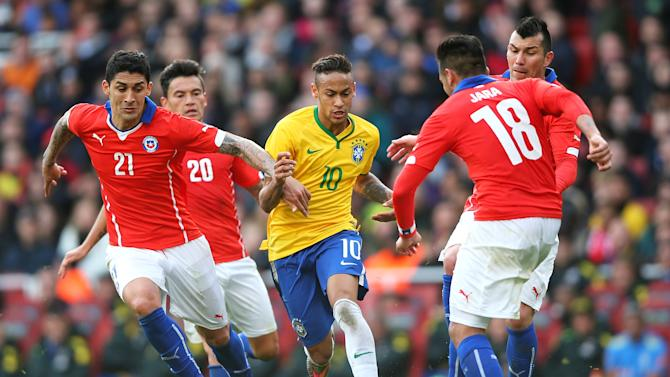 Brazil v Chile - International Friendly