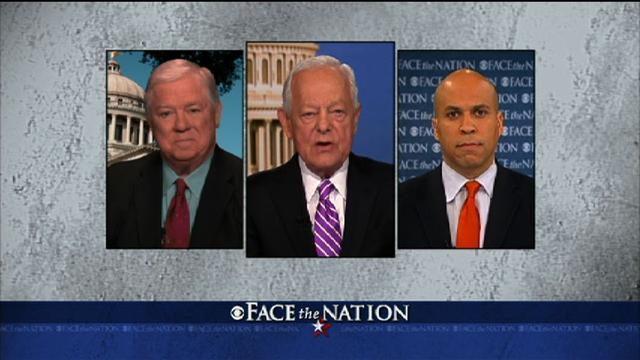 Barbour, Booker discuss Washington gridlock