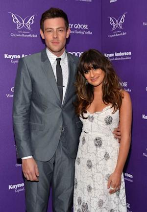 Cory Monteith and Lea Michele at the 12th Chrysalis Butterfly Ball on June 8, 2013 in Los Angeles -- Getty Premium