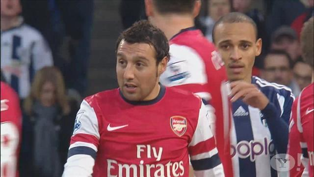 Premier League - Wenger defends Cazorla in 'diving' row