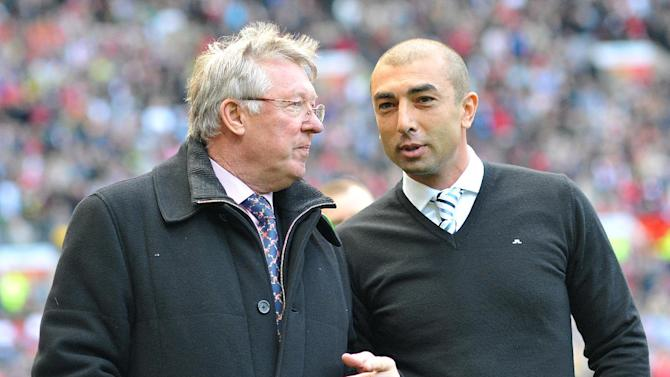 Sir Alex Ferguson and Roberto Di Matteo will go head-to-head in the Capital One Cup fourth round