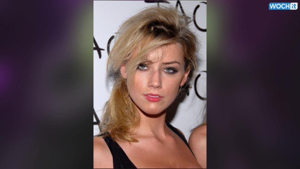 Pink-Haired Amber Heard Films New Movie Amidst Pregnancy Rumors