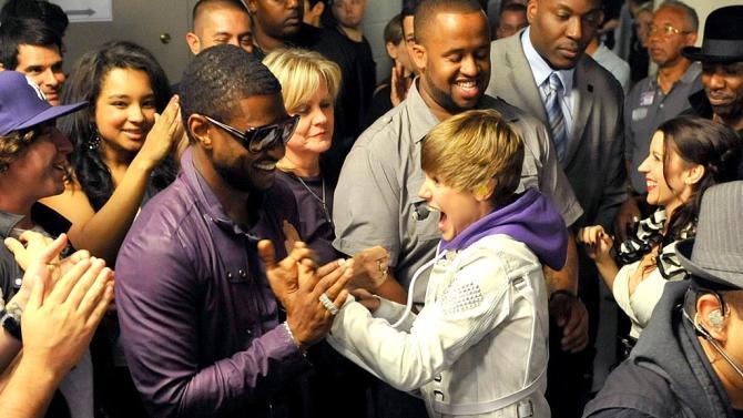 Usher Bieber Bieber Cncrt
