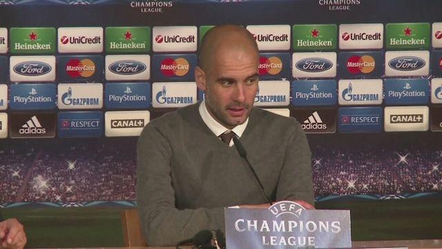 Guardiola 'proud' of Bayern Munich display