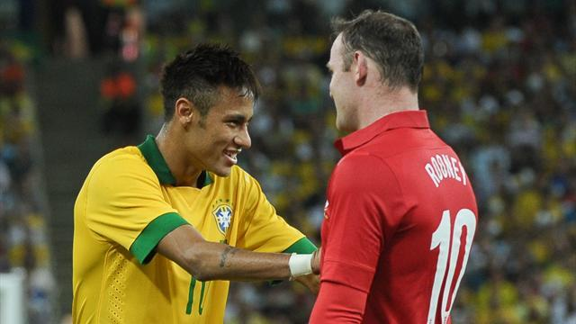 Premier League - Neymar wants Rooney to join Barcelona