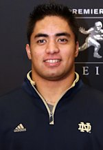 Manti Te-o | Photo Credits: Kelly Kline/Getty Images