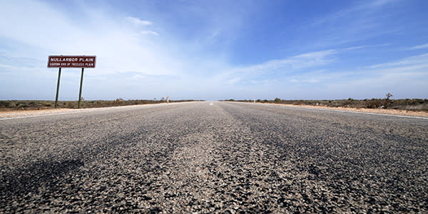 World's scariest roads - Eyre Highway, Australia