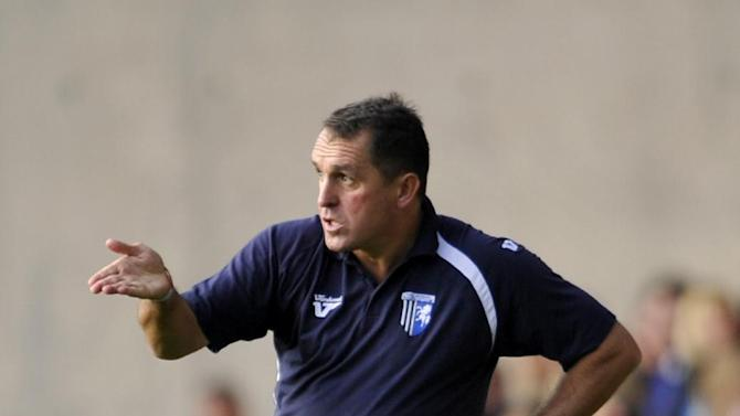 Martin Allen was impressed by the attitude of his Gillingham players