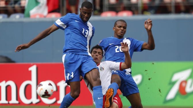 Gold Cup Mexico Martinique Soccer