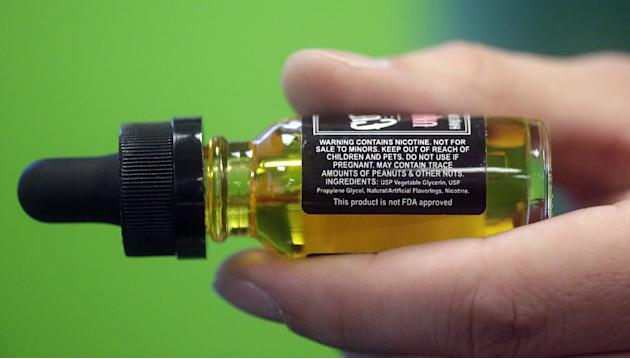 FDA weighs new restrictions on liquid nicotine products
