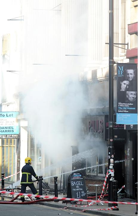 Fire in Manchester