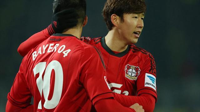 Bundesliga - Leverkusen end barren spell with win over Augsburg