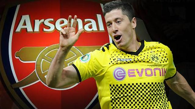 Premier League - Lewandowski: I had 'several talks' about Arsenal move