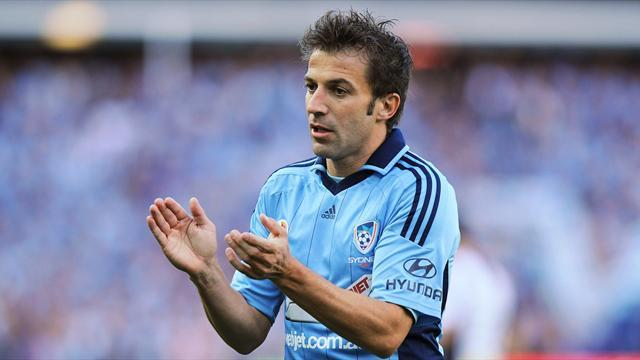 World Football - Del Piero's adventure Down Under turning sour