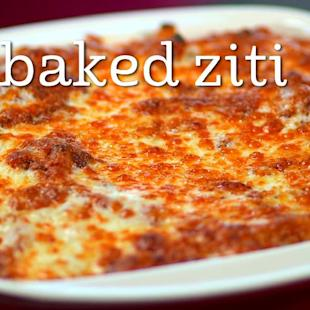 Make authentic Italian baked ziti at home