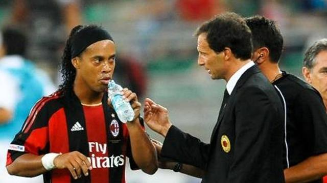 Serie A - Ronaldinho unhappy with Allegri conduct