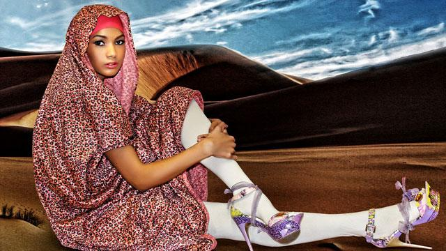 Muslim Designer Pushes Modest Modeling