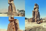 Ancient Egypt: Two More Colossal Pharaoh Amenhotep III Statues Raised in Luxor