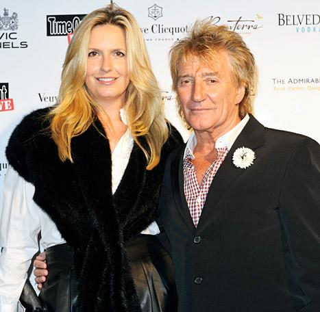 Rod Stewart, Wife Penny Lancaster Separated for Two Weeks