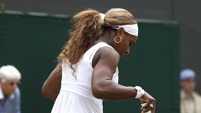 Wimbledon - Serena crashes out against Cornet