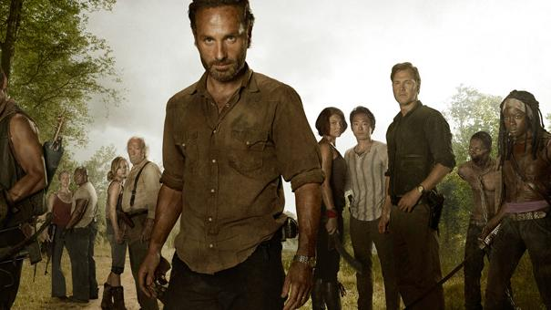 The Walking Dead banner