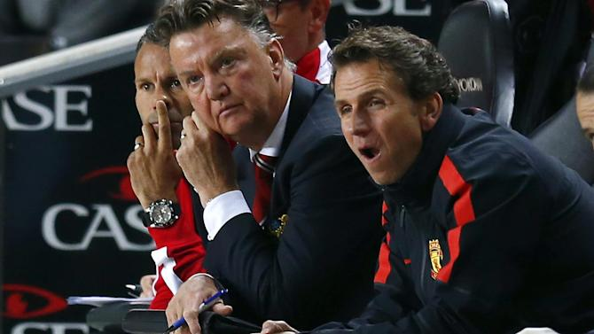 League Cup - Van Gaal blames 'errors' and 'luck' for United embarrassment