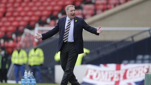 Scottish Football - Rangers book Newcastle friendly