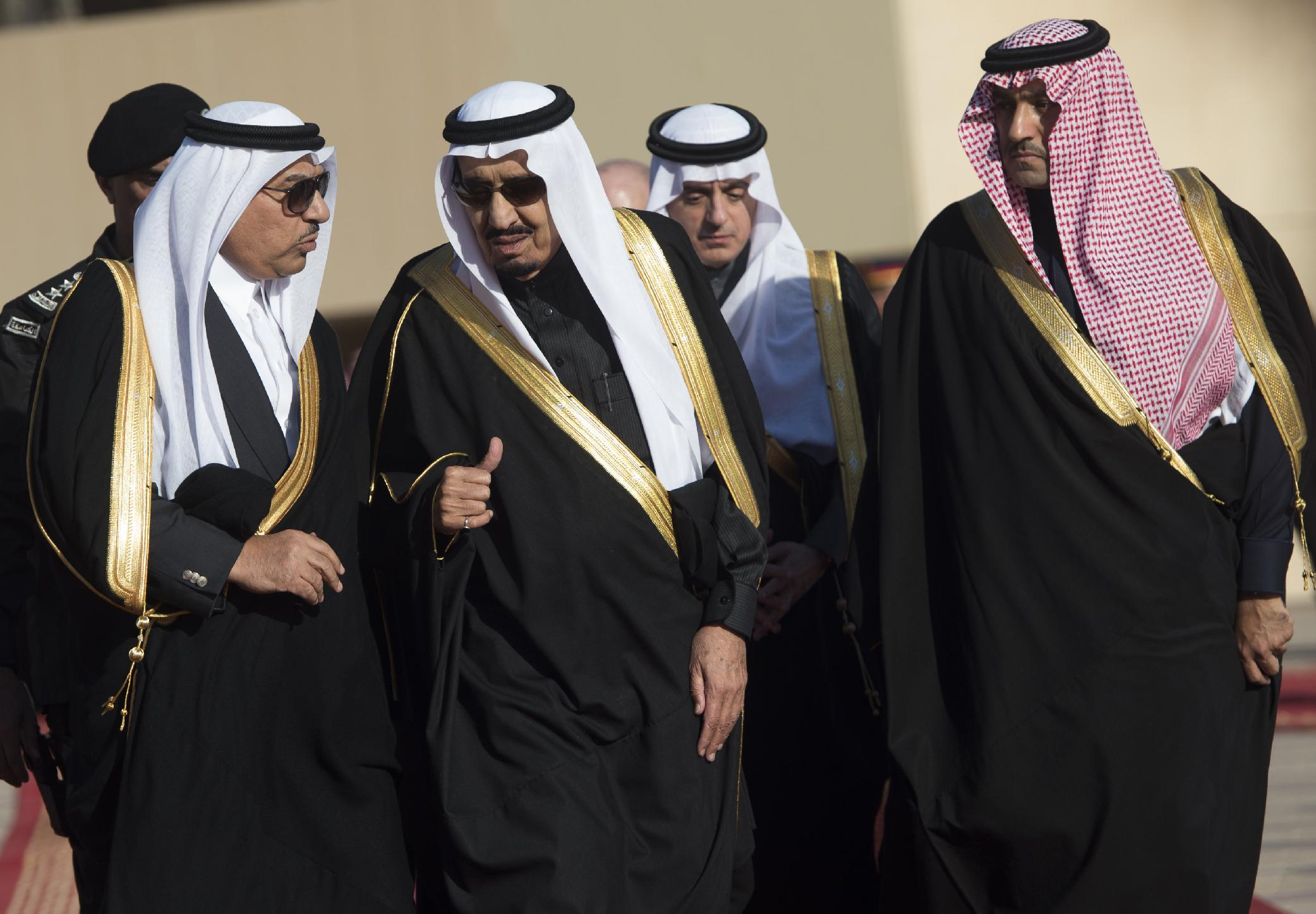 New Saudi king announces major government shake-up