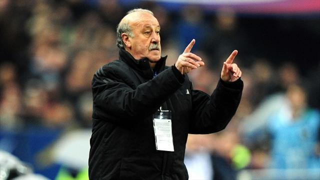 World Cup - Del Bosque hints at retirement after World Cup