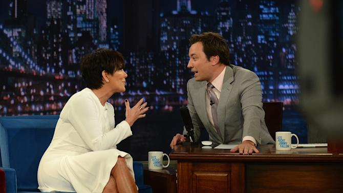 """Kris Jenner Visits """"Late Night With Jimmy Fallon"""""""