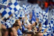 Chelsea fans soak up the atmosphere before the Champions League final against Bayern Munich at the Allianz Arena in Munich on May 19. Chelsea beat Bayern Munich 4-3 on penalties after the game finished 1-1 after extra-time