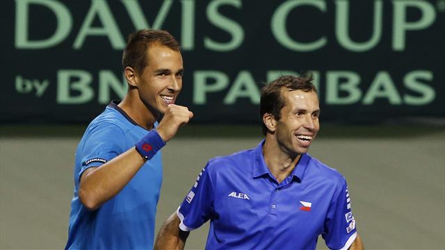 Tennis - Czechs ease to Davis Cup victory over Japan