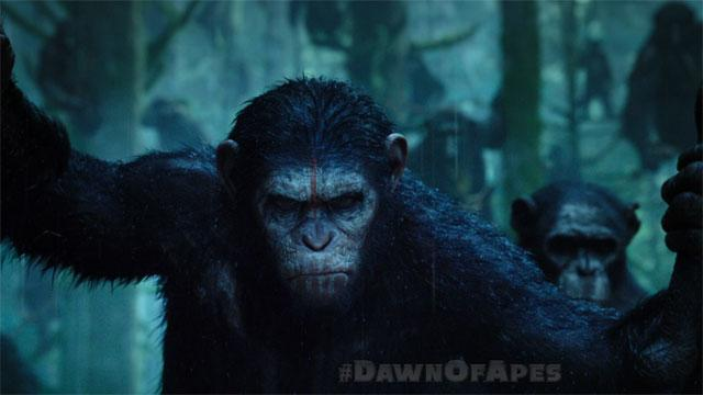 'Dawn of the Planet of the Apes' TV Spot: Intense
